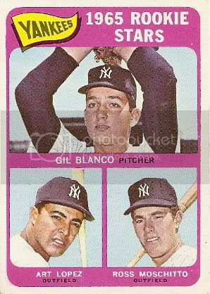 #566 Yankees Rookies: Gil Blanco, Art Lopez, and Ross Moschitto