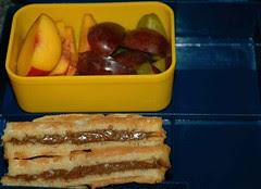 Nutella Waffel Sandwich