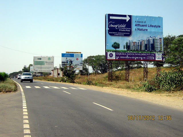 Hoarding on Old Mumbai Pune Highway - N H 4 at Kanhe - 3
