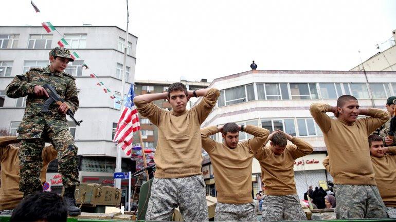 El régimen iraní se mofó de la detención de los norteamericano en el Golfo Pérsico