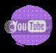 social media buttons photo: purple youtube polkadotpurple_02_zpse80ecb0e.png
