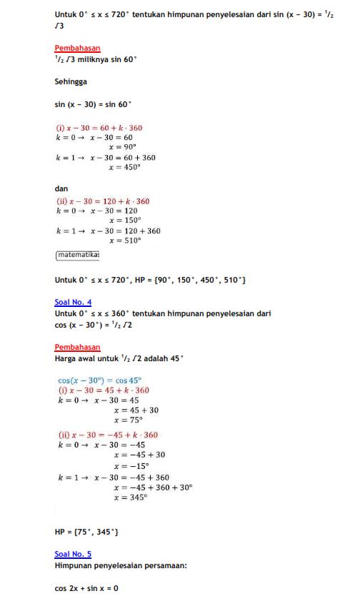 Rumus Matematika Sd Kelas 4 Lengkap Selalu Belajar