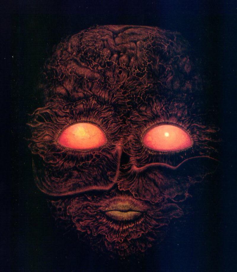 O artista que conseguiu captar o máximo horror dos sonhos 33