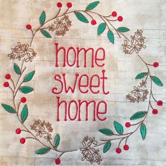 Home Sweet Home Berry Wreath Design Flowerdog Designs