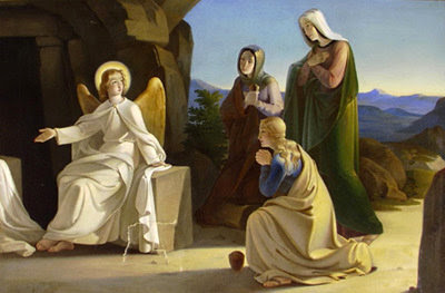 El ángel, después de la resurrección, menciona a Pedro