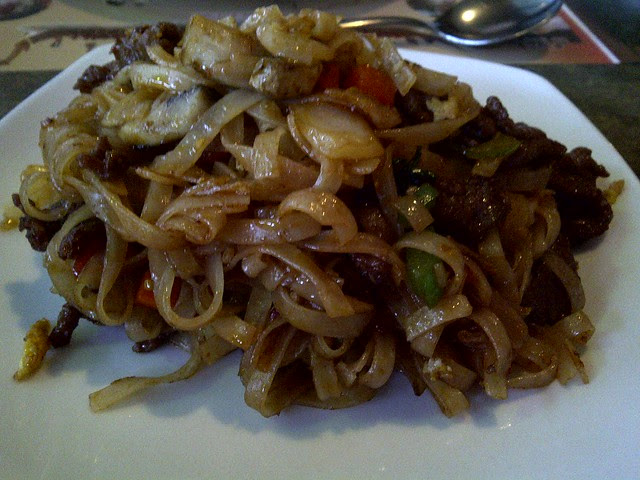 Stir Fried Rice Noodles 2