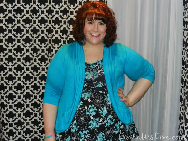 What I Wore:  Turquoise Floral