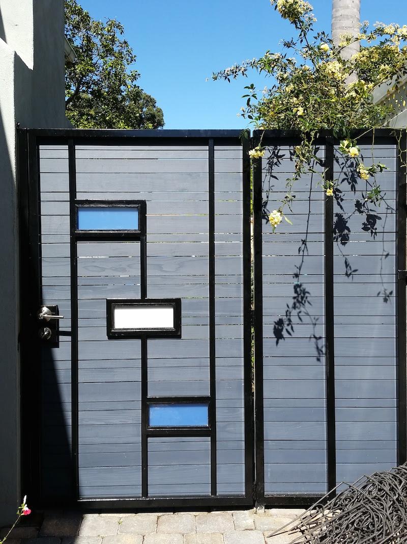 Modern Exterior Gate Design Of Modern Wooden Gates