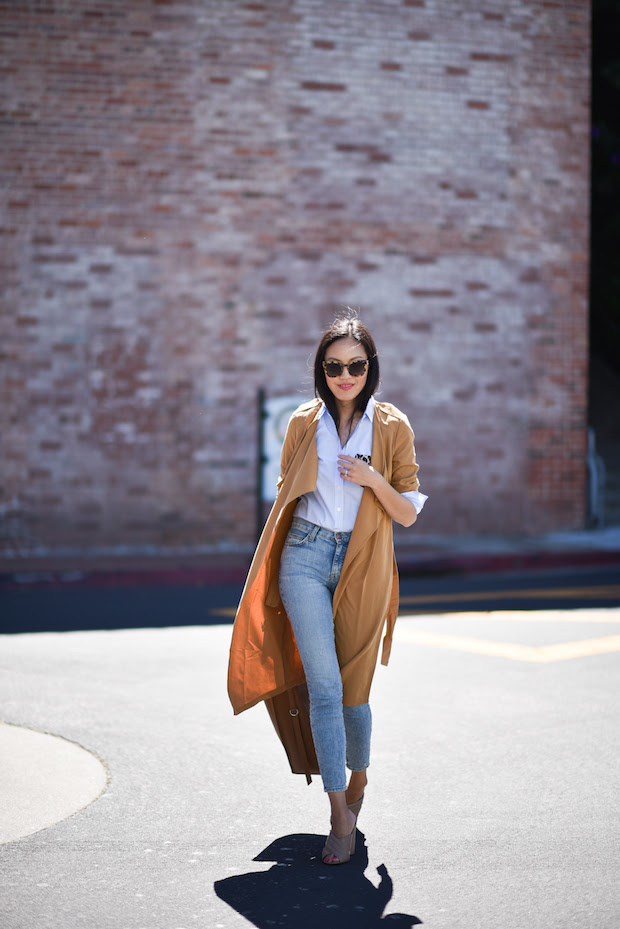 summer mules-duster coat-summer work outfit