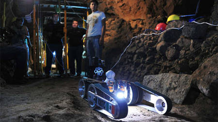 robot Tlaloc2 Teotihuacan