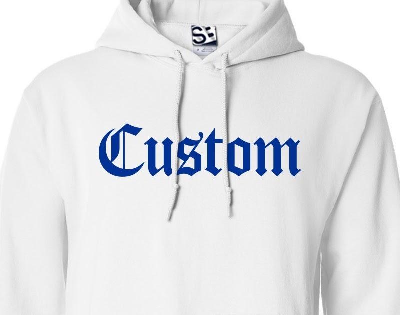 Custom Hoodies  19c22ed084