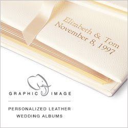 Personalized Leather Wedding Albums