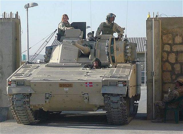 BAE Systems ha entregado la primera CV9030 actualizado rastreado blindado vehículo de combate de infantería para el ejército noruego. La nueva flota de vehículos ha mejorado significativamente la protección, la supervivencia, la conciencia situacional y la interoperabilidad, la incorporación de las lecciones aprendidas de las operaciones noruegas, suecas y danesas en Afganistán con CV90.