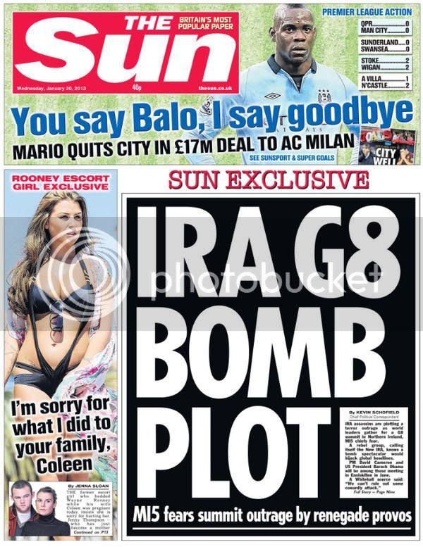 IRA Bomb