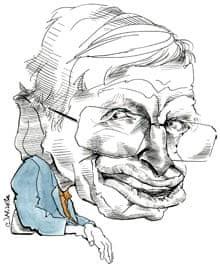 Stephen Hawking by Nicola Jennings