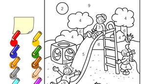 çocuk Parkını Boya Minika Oyun