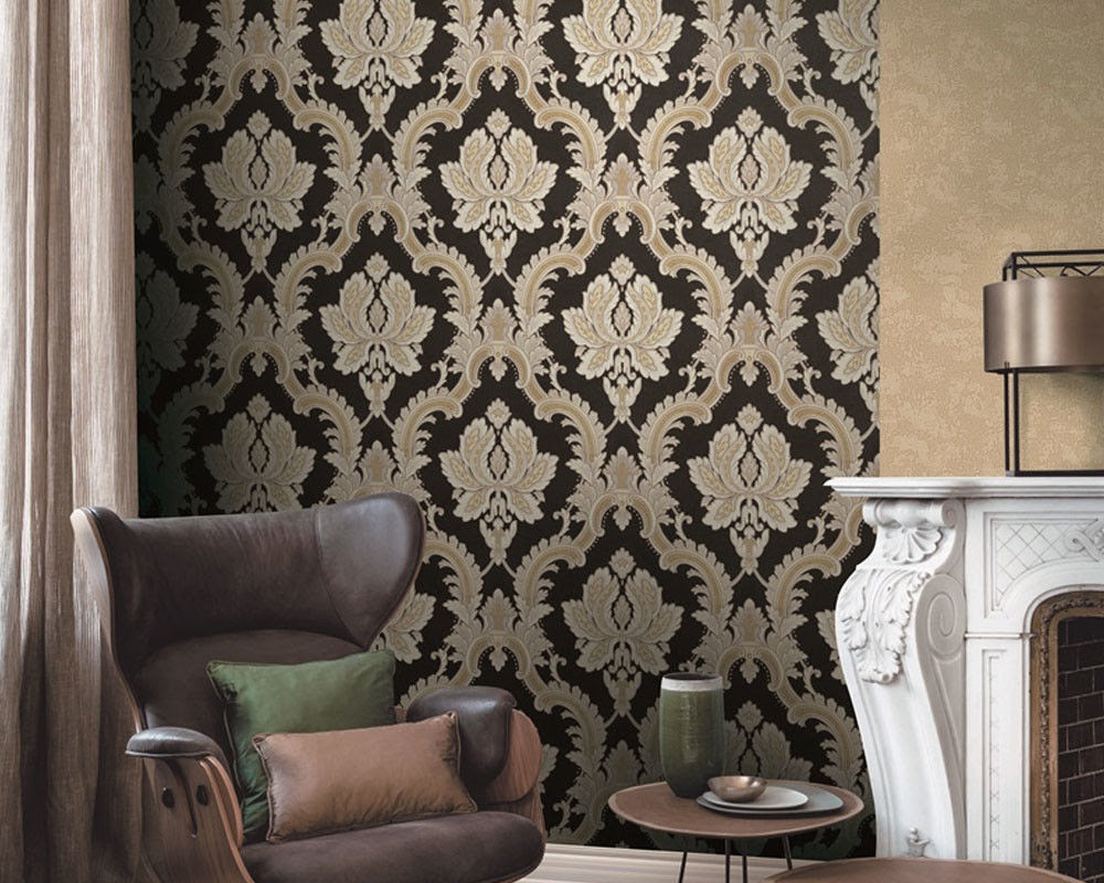 Fashion Stylish Interior Decor Wallpaper 1 06m Pvc Fancy Modern Style Competitive Prices