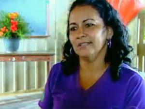 Ednalda Pimentel (Foto: TV Globo/Reprodução)