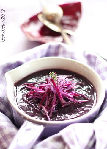 zuppa cavolo rosso