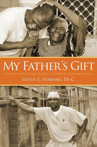 Book Cover for memoir My Father's Gift by Sixtus Z. Atabong.