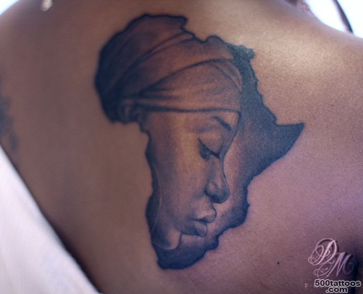 African Tattoo Photo Num 23207