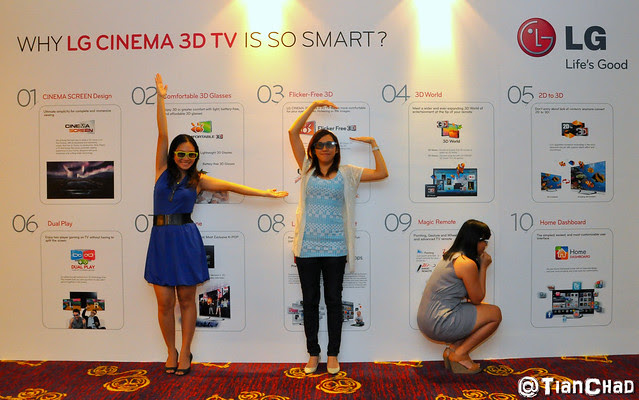 LG CINEMA 3D SMART TV Nuffnang Party -  Super Real 3D