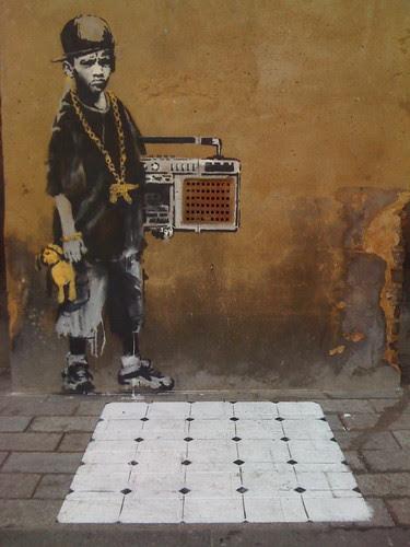 Banksy, Gillett Square, Dalston