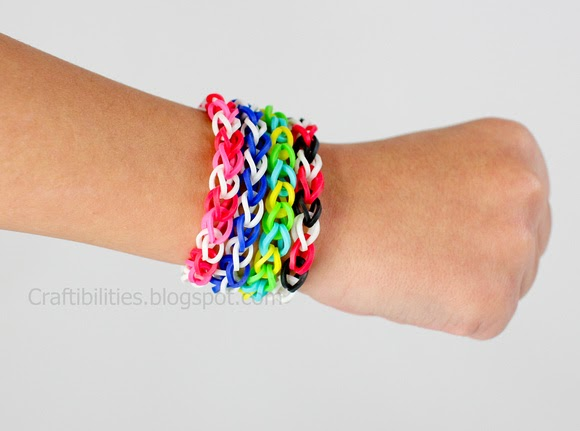 Rubber Band Bracelets Make It Without A Loom Video