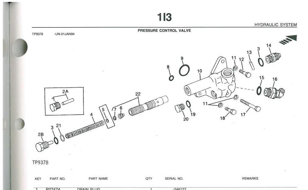 John Deere 410 Backhoe Parts Diagram
