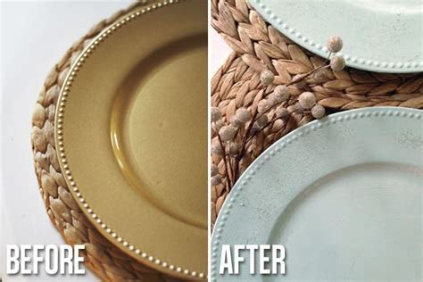 Plastic Plate Chargers Cheap & Posh Setting Clear Charger