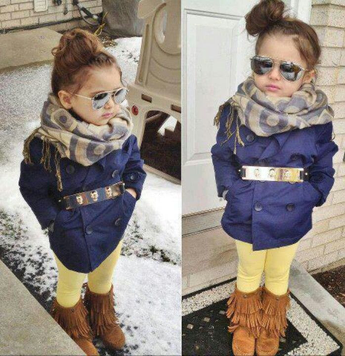 Cute little girl fashion- I will dress my niece like this :)