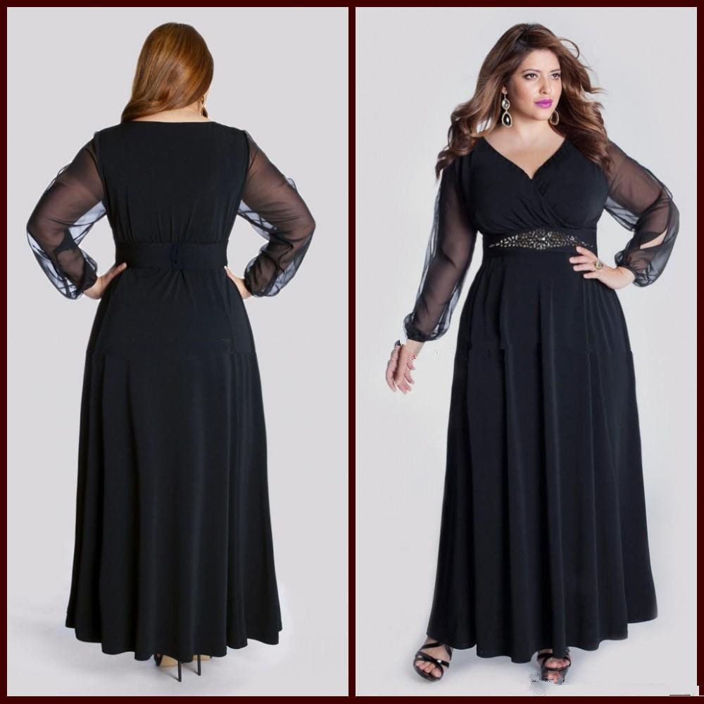 Black evening dress 18