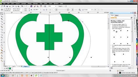 membuat logo kementerian kesehatan  coreldraw youtube