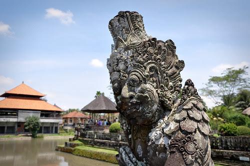 Taman Ayun Royal Temple Statue