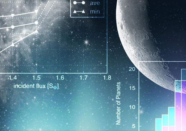 Raffigurazione di uno dei 15 nuovi mondi che orbitano intorno a piccole stelle fredde, le nane rosse (fonte Tokyo Institute of Technology) © Ansa
