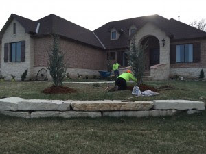 New Home Landscaping Daniels Lawn And Landscaping Services