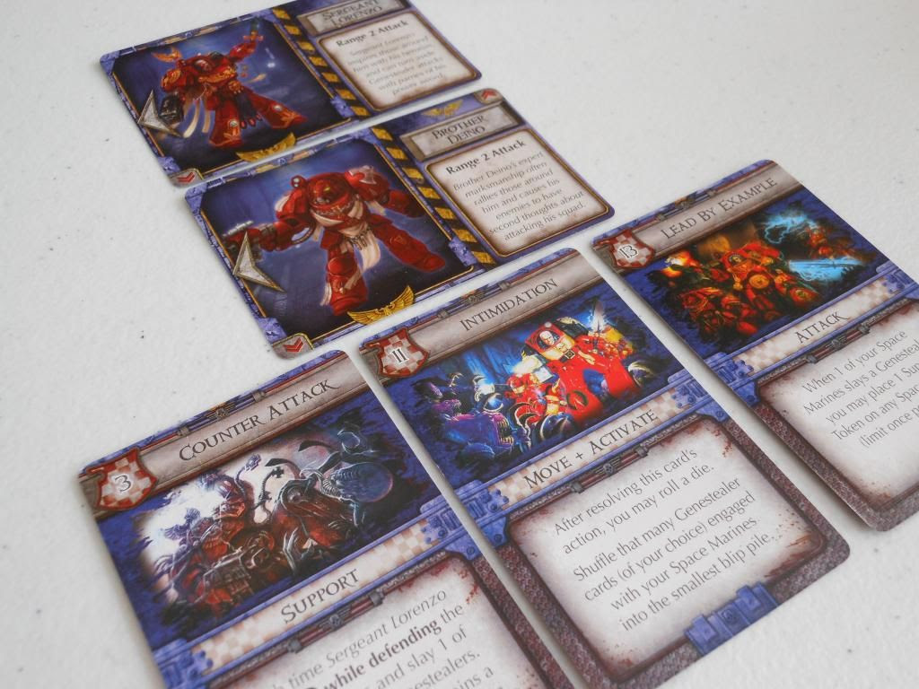 Space Hulk: Death Angel cards