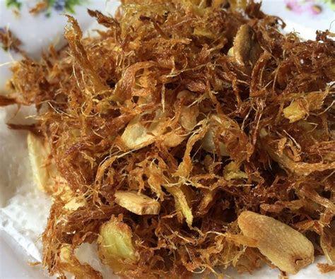resepi serunding halia bawang putih dianeseracom