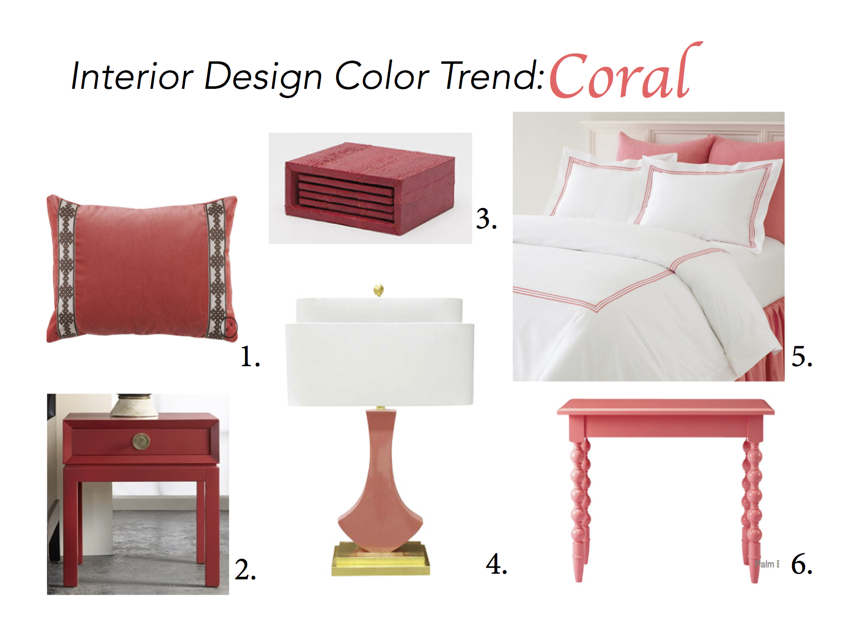 Interior Design 2016 Color Trend Coral Christy Davis Interiors