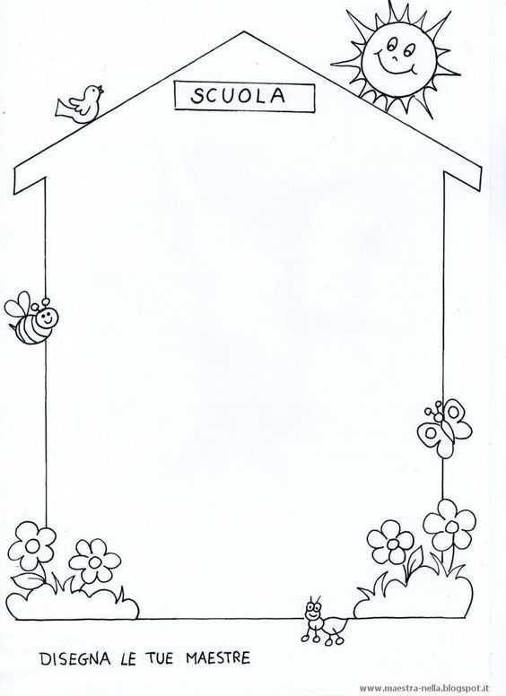 Okul Boyama Sayfasi 3 Okul öncesi Etkinlik Faliyetleri