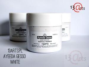 Gesso białe - grunt akrylowy 120ml