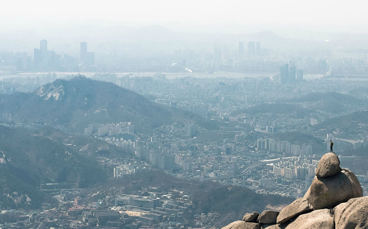 Looking At Seoul, South Korea by Max Slangwhanger