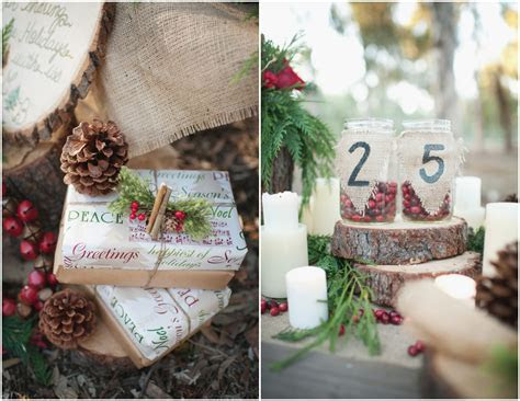 Winter Rustic Wedding Ideas   Rustic Wedding Chic