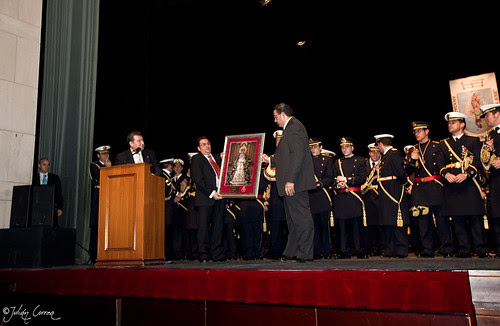 Entrega de Obsequio Agrupación Musical Cristo Yacente (Salamanca)