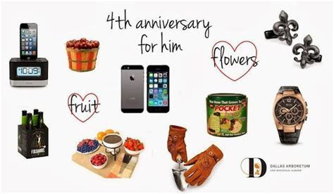 4th anniversary gift ideas for husband   Products I Love
