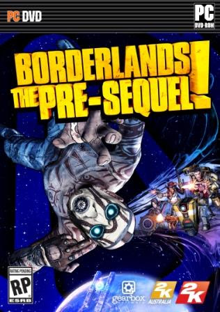 Cover Of Borderlands The Pre Sequel Full Latest Version PC Game Free Download Mediafire Links At worldfree4u.com
