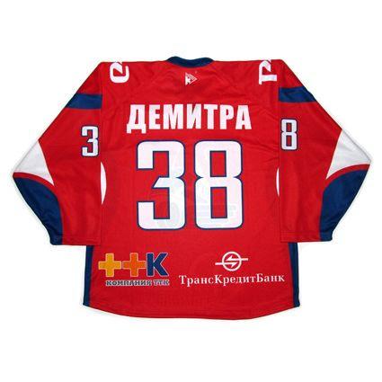 Russia Lokomotiv Yaroslavl 2010-11 jersey photo RussiaLokomotivYaroslavl2010-11B.jpg