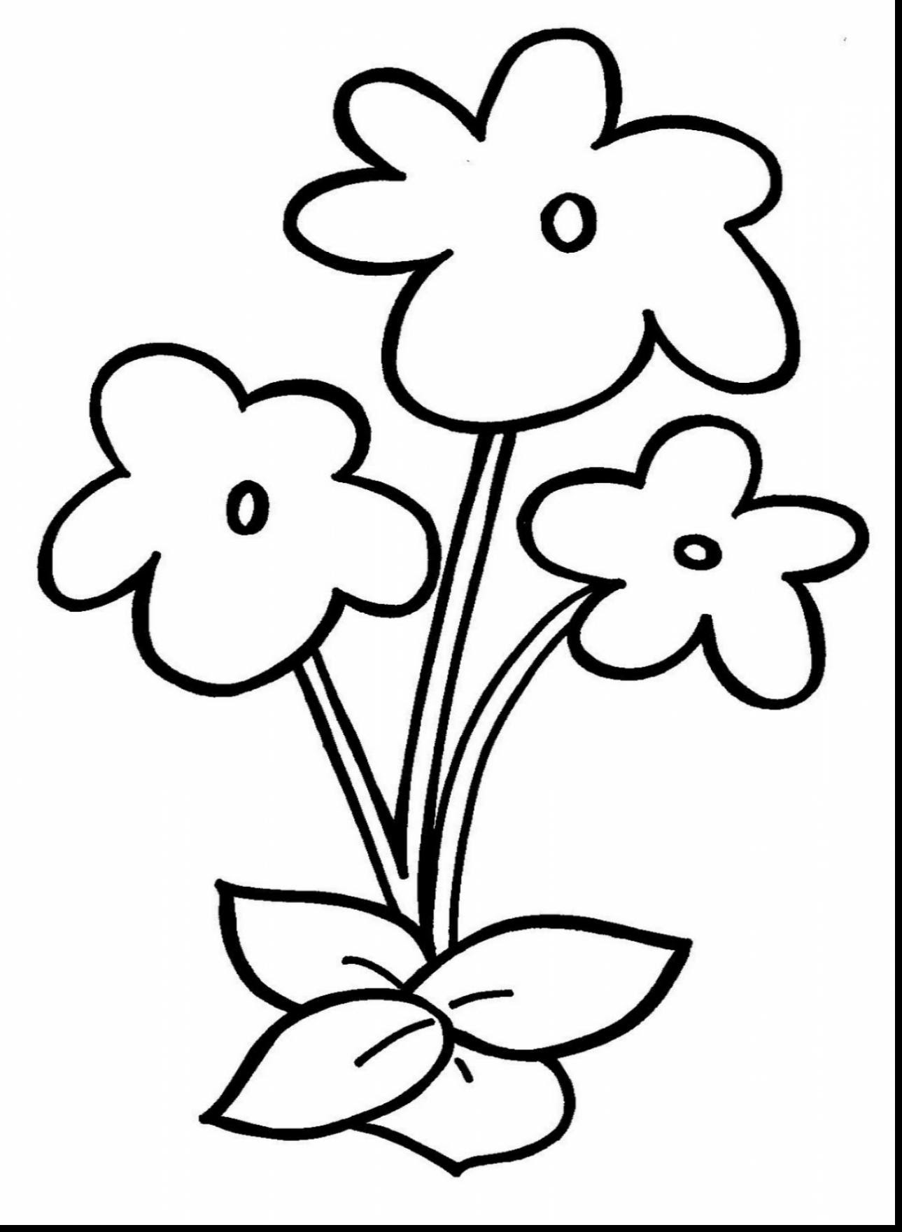 Flower Coloring Pages at GetDrawings | Free download
