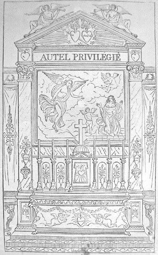 Baroque altar