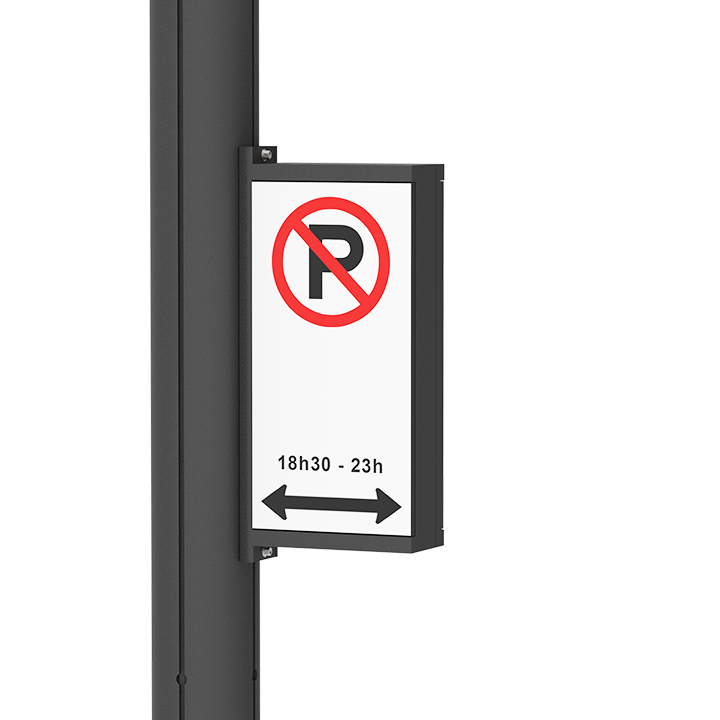 Electronic No Parking Sign Lumca Outdoor Lighting Manufacturer